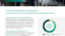 Energy Savings Topped List in State of Distributed Energy Resources Study