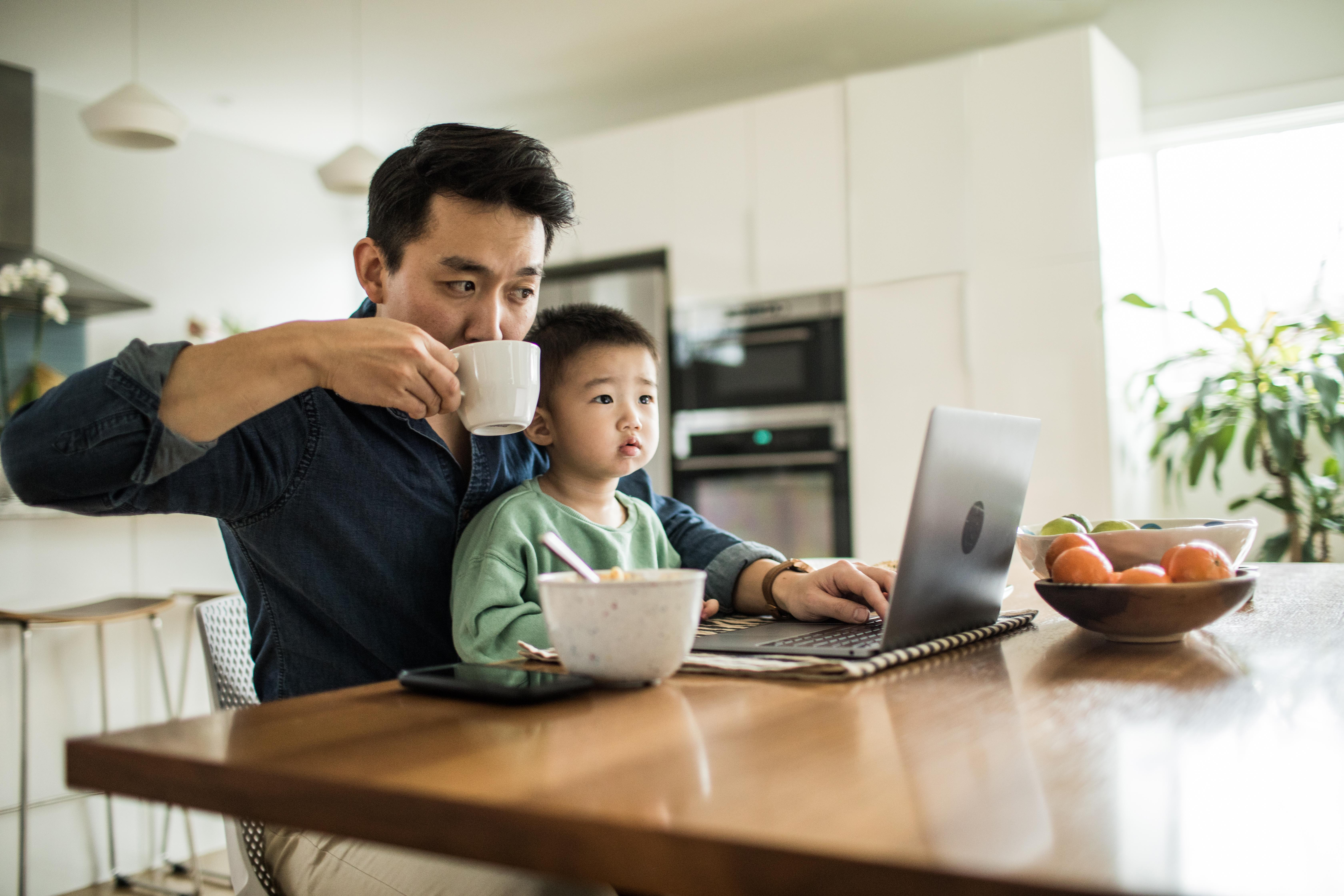 Parents are more productive working at home than workers without kids: Study