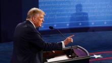 Trump Family and Entourage Not Wearing Masks During Presidential Debate With Joe Biden