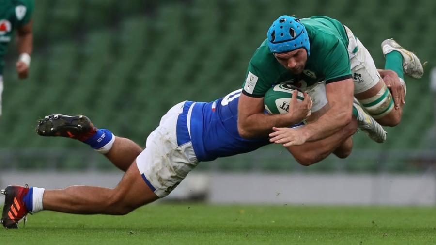 L'Italia ne prende 50 in una Dublino spettrale