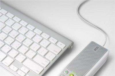 IPEVO's TR-10 speakerphone makes nice with iChat