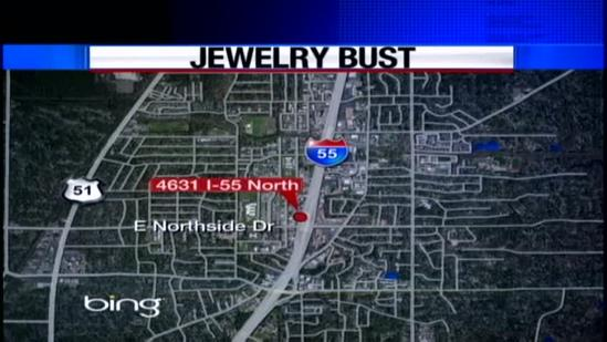 Gold coins recovered at Jackson pawn shop