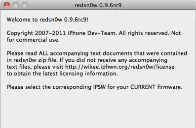 redsn0w untethered jailbreak for iOS 4.3.1 released for Windows and OS X, lacks iPad 2 support