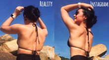 Blogger's Empowering Side-by-Side Photos Show Instagram vs. Reality