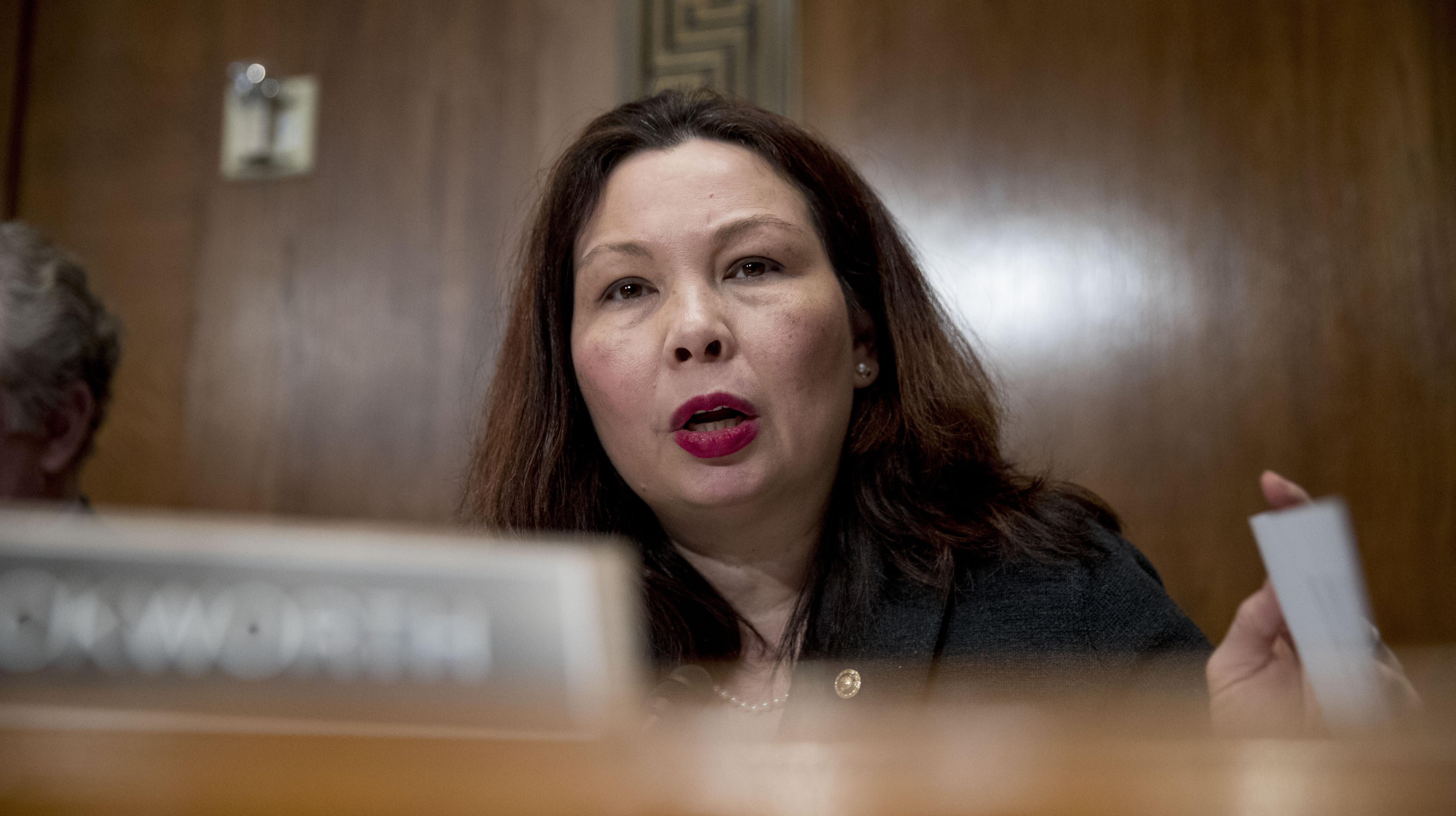 Senator Tammy Duckworth Slams Transgender Military Ban, Recalling Near-Death Experience