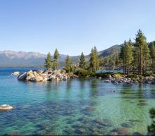 Plane crash in Lake Tahoe kills three all onboard, sparks wildfire