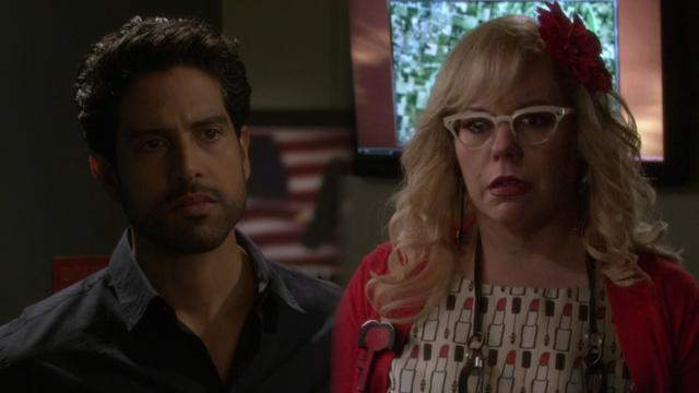 penelope garcia and luke alvez gifs from criminal minds - 640×360