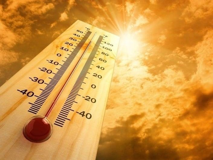 Morris County officials ask that everyone stay in the shade and prepare their home for Sunday.