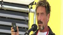 McAfee founder wanted for questioning