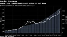 Enormes reservas de oro ruso valen más de US$100.000 millones