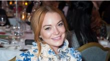 Lindsay Lohan pleads with people to 'stop bullying' President Donald Trump