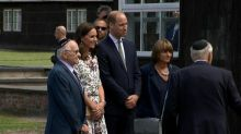 Prince William, Princess Kate pay somber visit to concentration camp in Poland