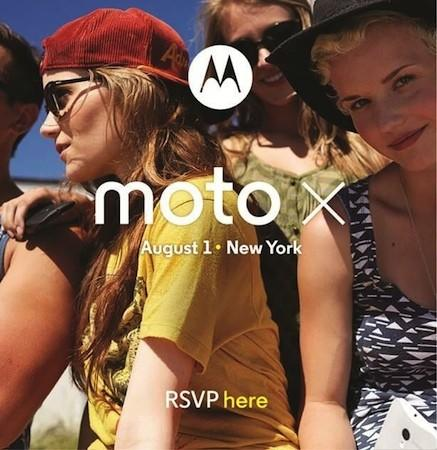 Motorola schedules Moto X launch for August 1st in NYC