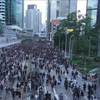Protests continue in Hong Kong for 4th-straight week