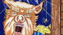 Jim Carrey calls Donald Trump a 'disgusting pig' in latest artwork