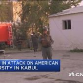 12 killed in attack on American University in Kabul