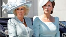 Camilla and Kate's dress double up at Trooping the Colour