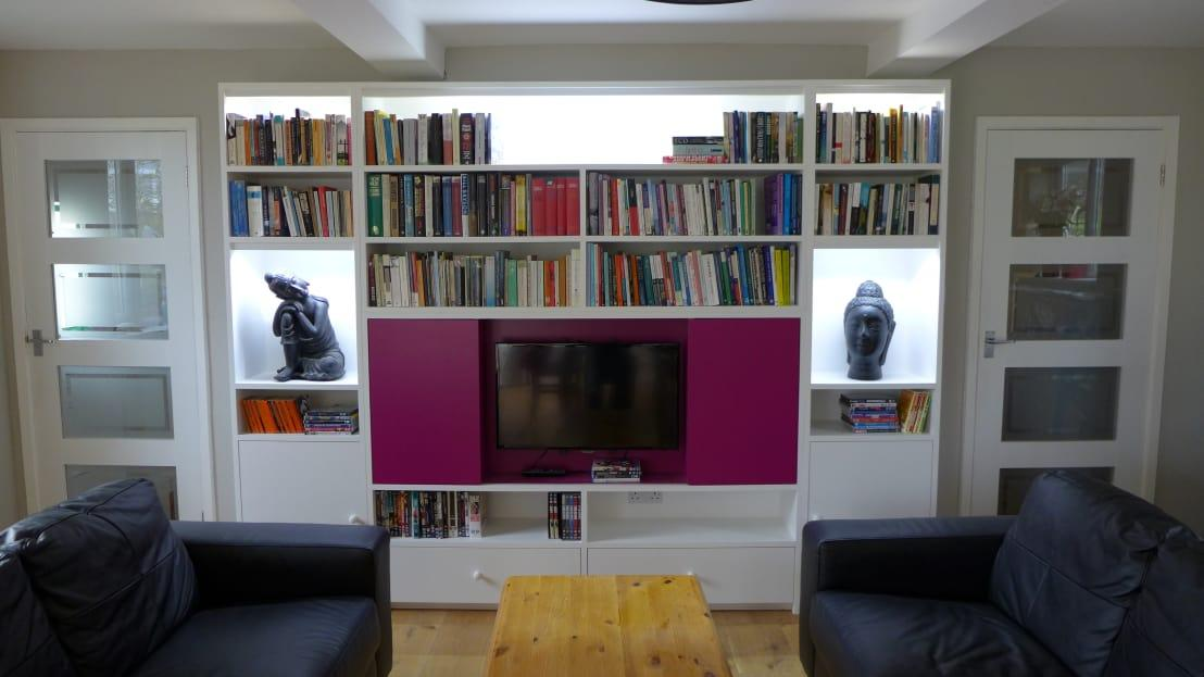 PThis Built In Bookshelf Design Has Not Only Offered A Stylish Way