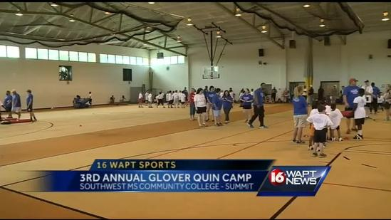 3rd annual Glover Quin football camp