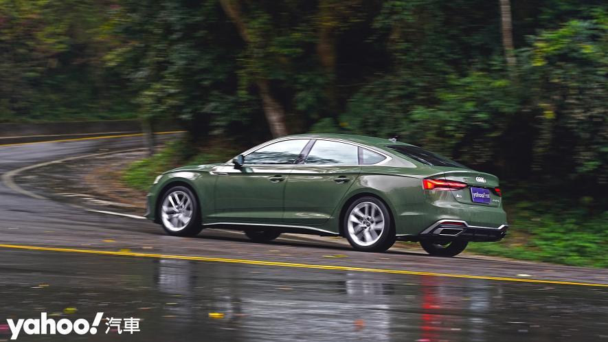 捉艷疾走!2021 Audi A5 Sportback 40 TFSI S line小改款試駕 - 14