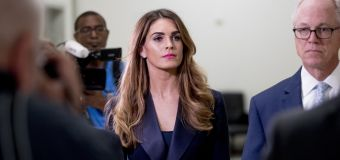 Hope Hicks refuses to answer questions:Dems