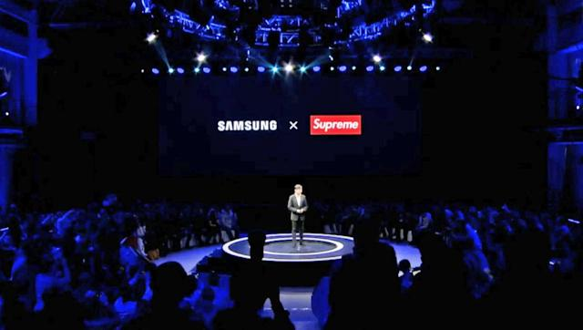 Samsung to develop real products with a fake Supreme