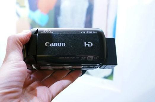 Canon Vixia R40 wireless camcorder hands-on (video)