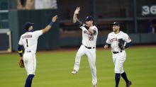 Valdez, Tucker lead Astros to 2-1 win over Rangers
