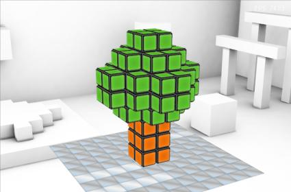 Rubik's World looks neat, is presumably a game of some kind