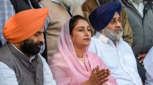 President Accepts Harsimrat Kaur's Resignation from Centre as Farm Sector Bills Sour BJP-Akali Dal Ties