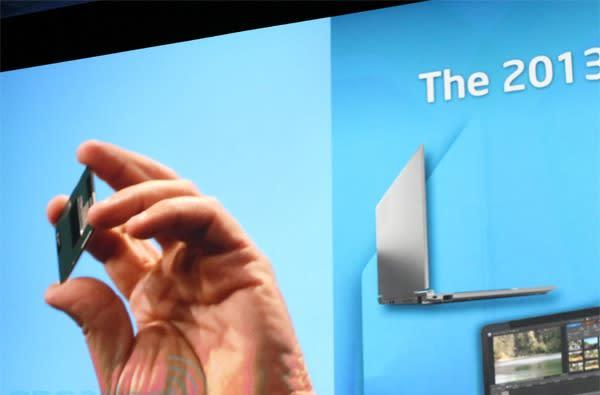 This is what Intel's Haswell microarchitecture looks like (video from IDF)