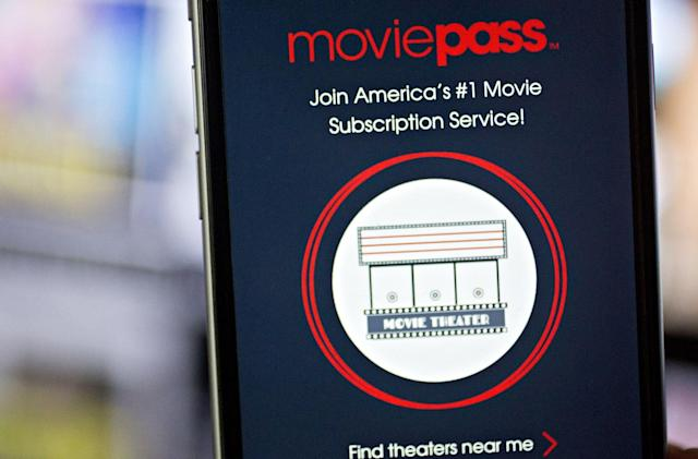 MoviePass to spin out from its parent company amid legal woes