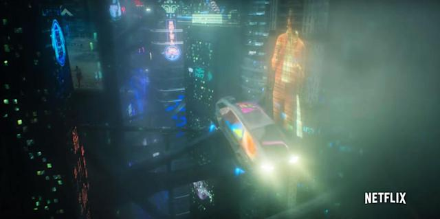 Netflix's 'Altered Carbon' trailer shows a vast cyberpunk world