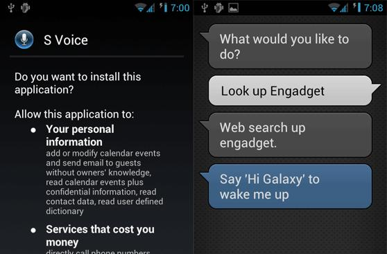 Unofficial S-Voice app gets gagged, Samsung waits for its flagship hero