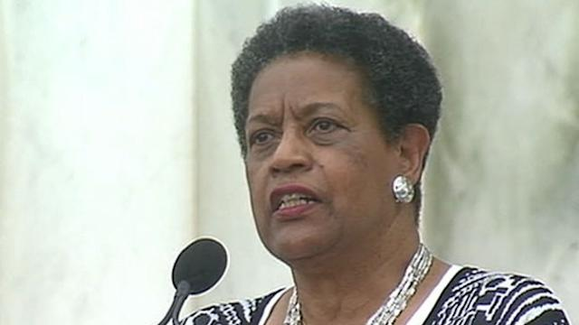 Myrlie Evers-Williams: 'Freedom Is Not Free, We Must Work for It'