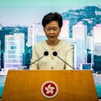 Hong Kong leader says will 'vigorously implement' security law