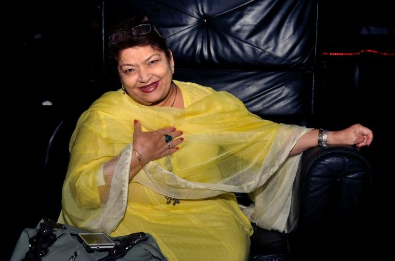 Saroj Khan choreographed more than 2,000 numbers during a 40-year career in Bollywood (AFP Photo/STR)