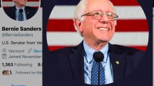 Democratic candidates with the most (and least) Twitter followers