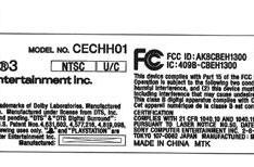 PS3 model CECHH01 lands at the FCC
