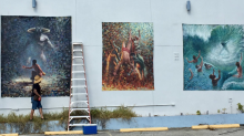 Artist's painting taken down in Florida after people complained it was 'satanic'