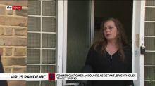 Workers laid off despite furlough scheme