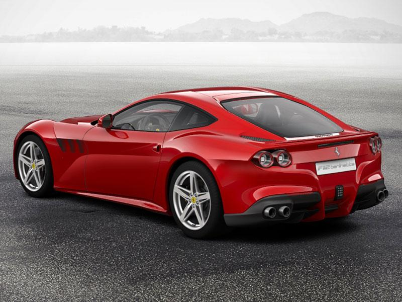 Is This What The New Ferrari F12m Will Look Like