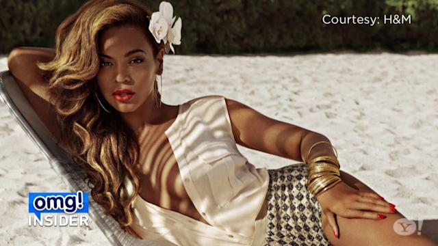 Beyoncé Strips Down for Bikini Photo Shoot