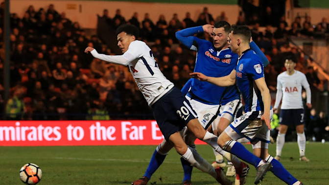 Dele Alli was 'looking for' the penalty he won, says Rochdale manager Keith Hill
