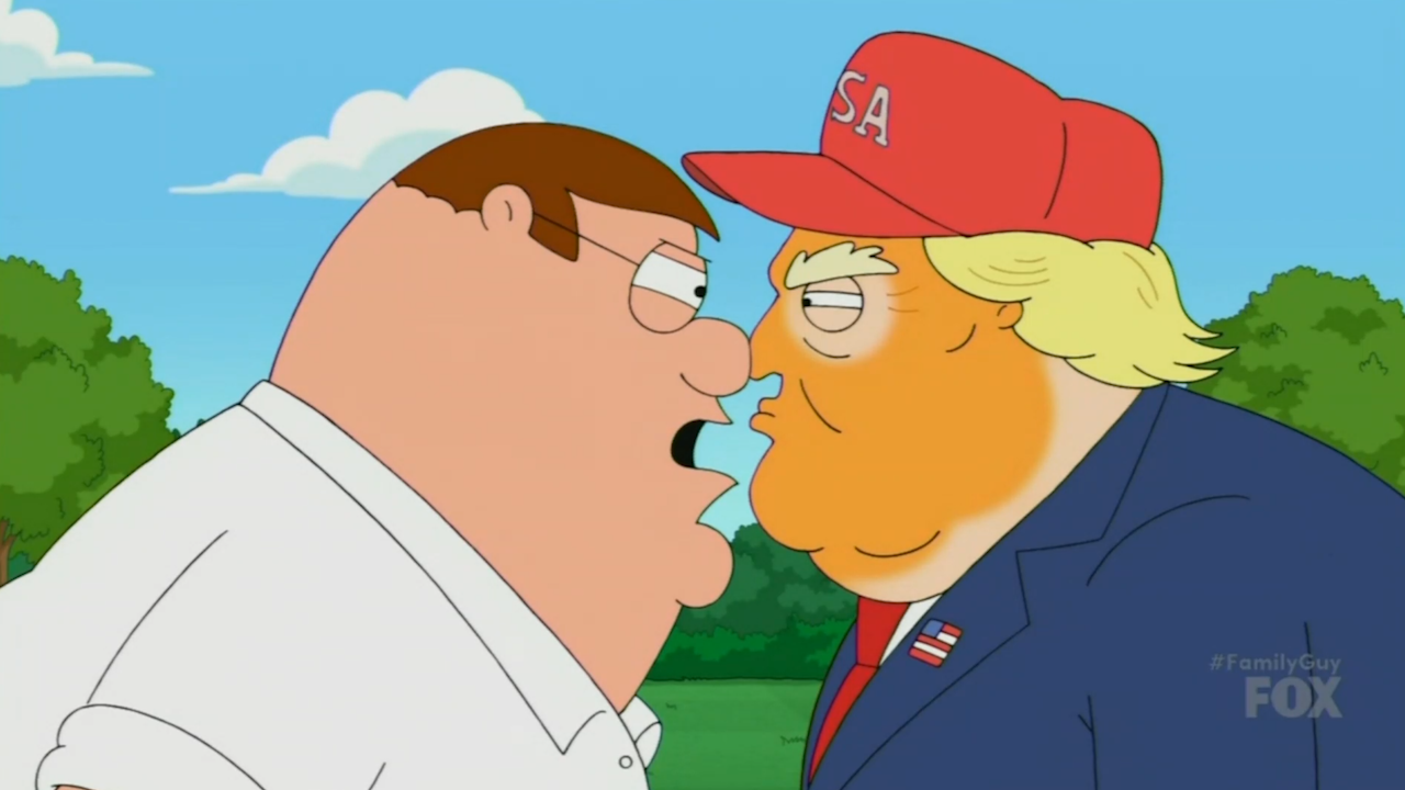 Family Guy Roasts Donald Trump And Twitter Reactions Are Split Video