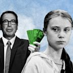 "Steve ""Foreclosure King"" Mnuchin Says Greta Thunberg Should Go Study Economics in College"