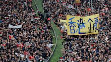 Hundreds Of Thousands Of Hong Kong Protesters Demand Leader's Resignation