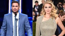 Kate Upton and Rob Lowe Slam NFL Players for Sitting During National Anthem on 9/11