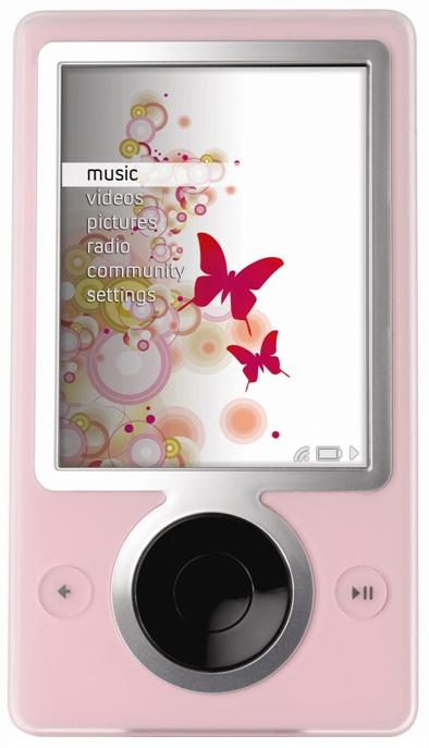 Forget May, Pink Zune available now