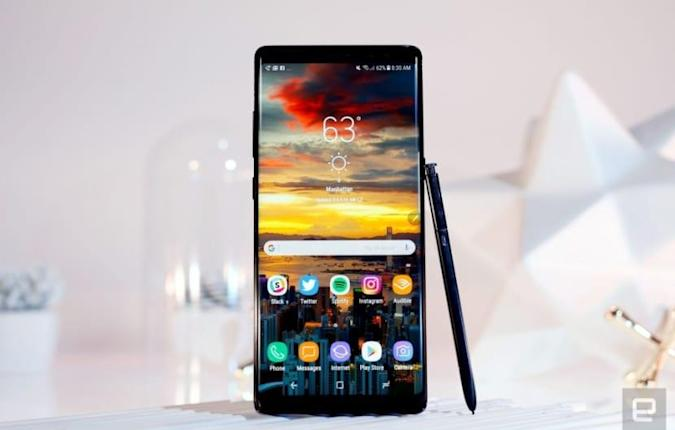 Test: Samsung Galaxy Note 8
